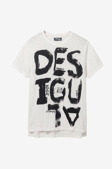 100% cotton arty T-shirt | Desigual