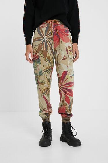 Tropical cargo jogger trousers | Desigual