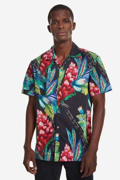 Tropical Open Neck Shirt Darragh