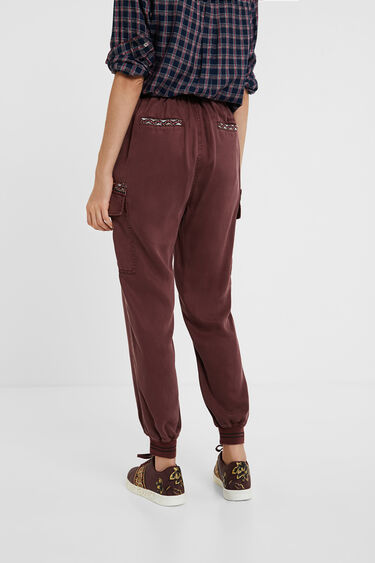 Cropped cargo joggers | Desigual