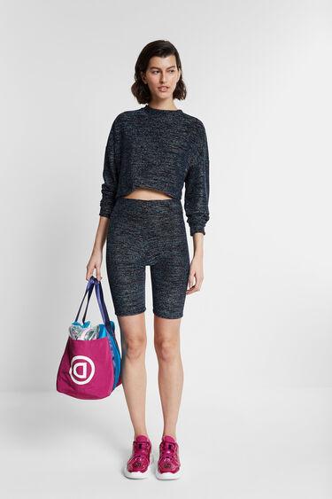 Colour-block bag with mini-bag | Desigual