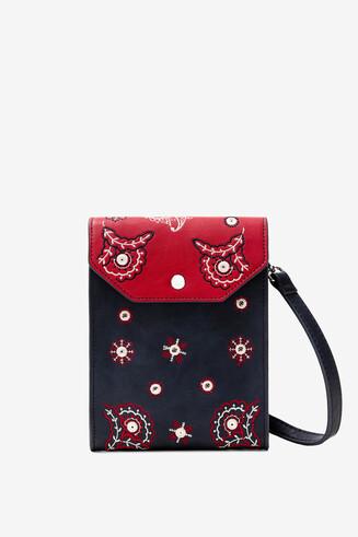 Tasje/portemonnee met paisley