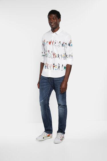 Arty Hemd Slim Fit 100% Baumwolle | Desigual