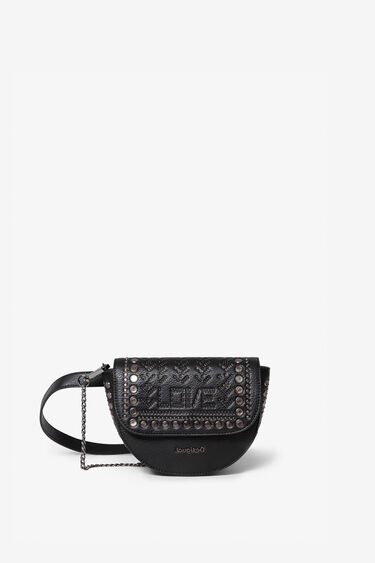 Bum bag with metal rivets | Desigual