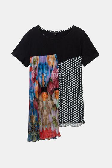 Asymmetric patch T-shirt Designed by M. Christian Lacroix | Desigual