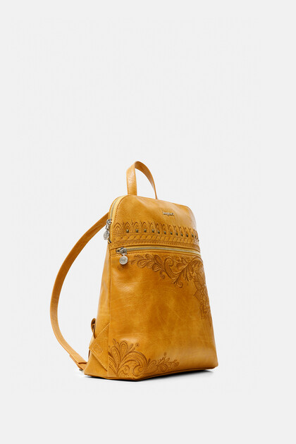 Exotic embroidery backpack