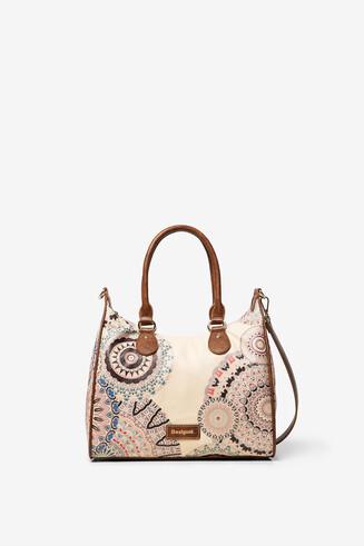 Tasche mit Mandalas und zwei Zipfeln