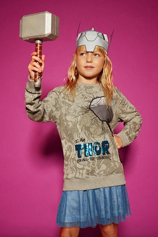 Thor's hammer sweatshirt | Desigual