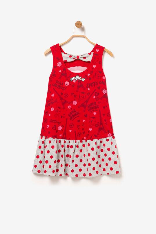 Red Sleeveless Dress Miraculous | Desigual