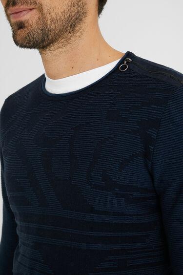 Jumper zipper 100% cotton | Desigual