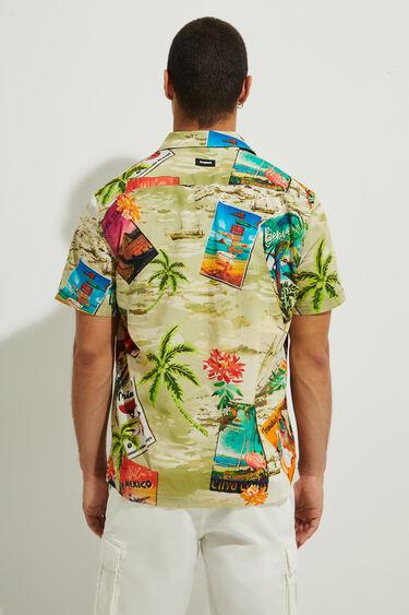 Hawaiian shirt 100% cotton | Desigual