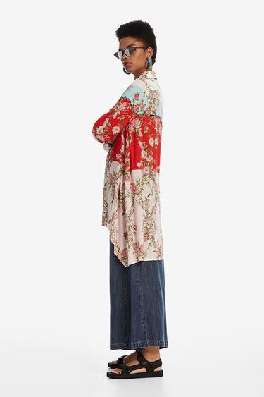 Asymmetric longline shirt | Desigual