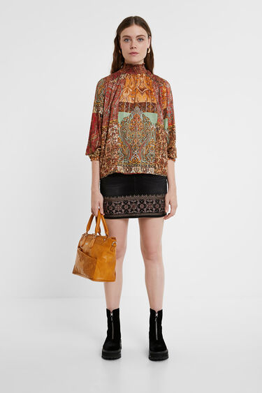 Embroideries studs bag | Desigual