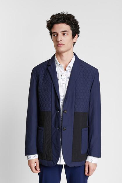 Casual gewatteerde blazer