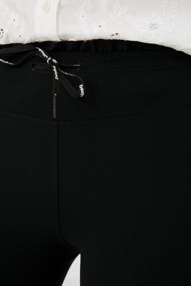 Slim fit tafzijden legging | Desigual