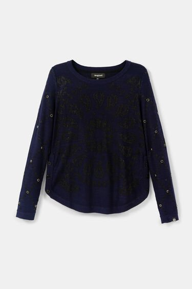 Knit sweater mandala | Desigual