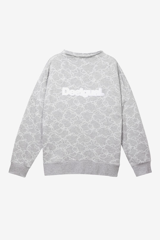 Sweat-shirt Camo Flower | Desigual