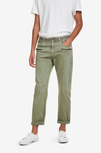 Military trousers with zips Joel