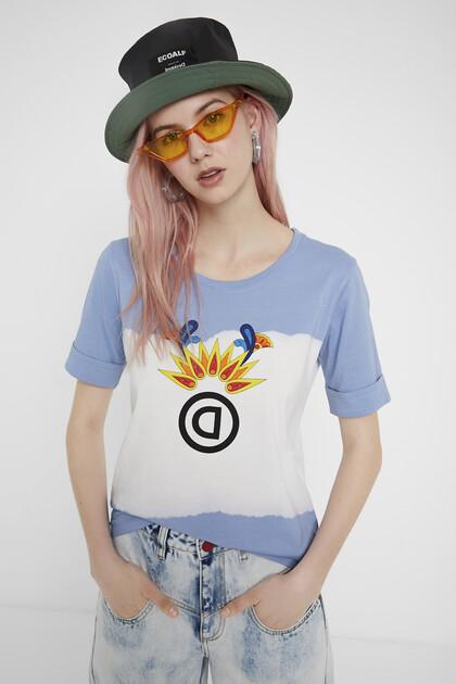 T-shirt met mandala