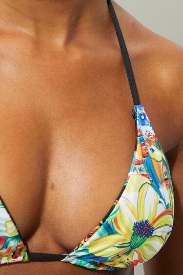 Reversible bikini top triangle | Desigual