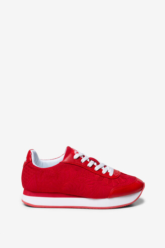 Running Trainers Galaxy Lottie Red
