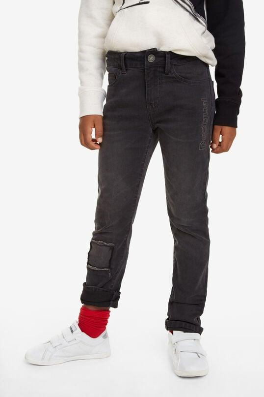 Pantalon en jean long droit | Desigual
