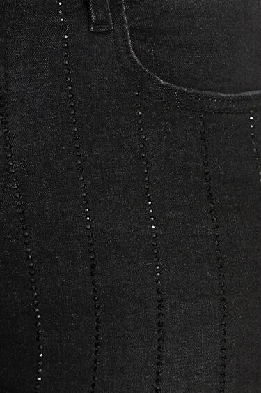 Sparkling slim jeans | Desigual