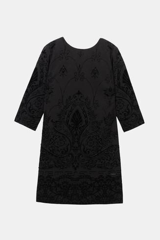 3/4 sleeve slim dress