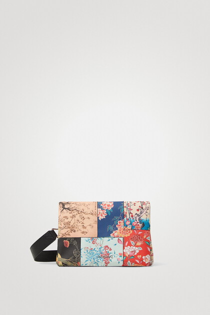 Sling bag patch flowers