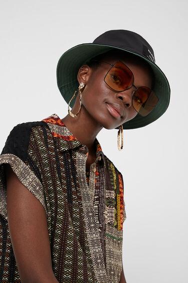 Camisa màniga curta sanefa africana | Desigual