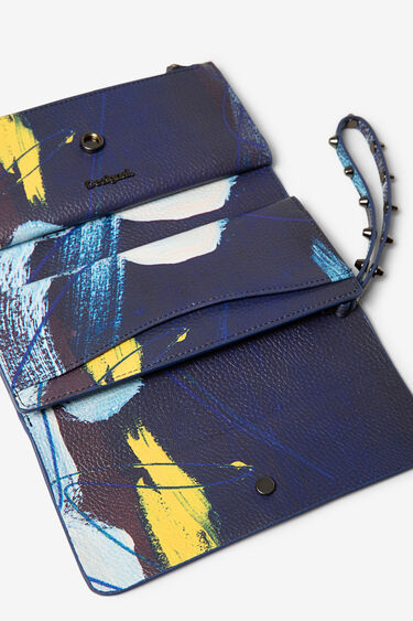 Reversible arty purse | Desigual