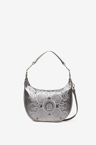 Sling bag with galactic mandalas