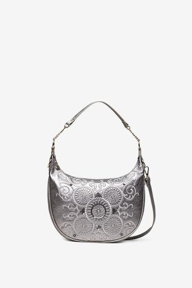 Sling bag with galactic mandalas   Desigual