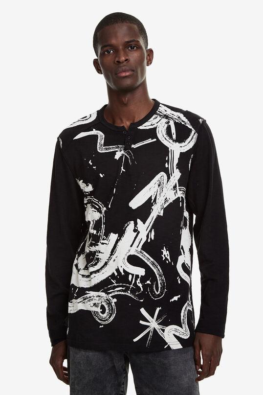 Samarreta arty Black & White | Desigual