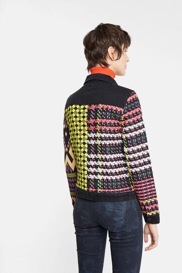 Giacca patch maglia | Desigual
