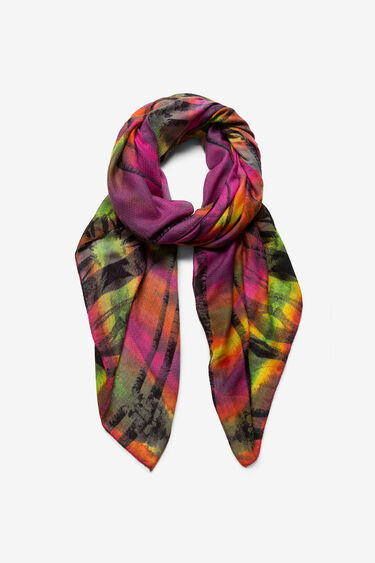 Fulard efecte destenyit i palmeres | Desigual
