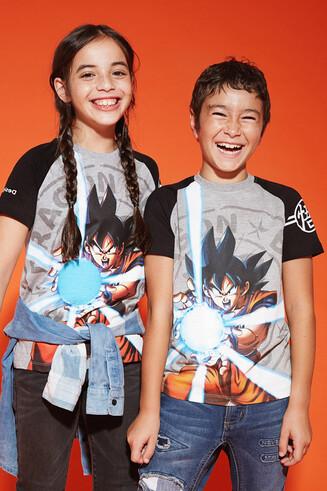 Koszulka z motywem Goku Kamehameha
