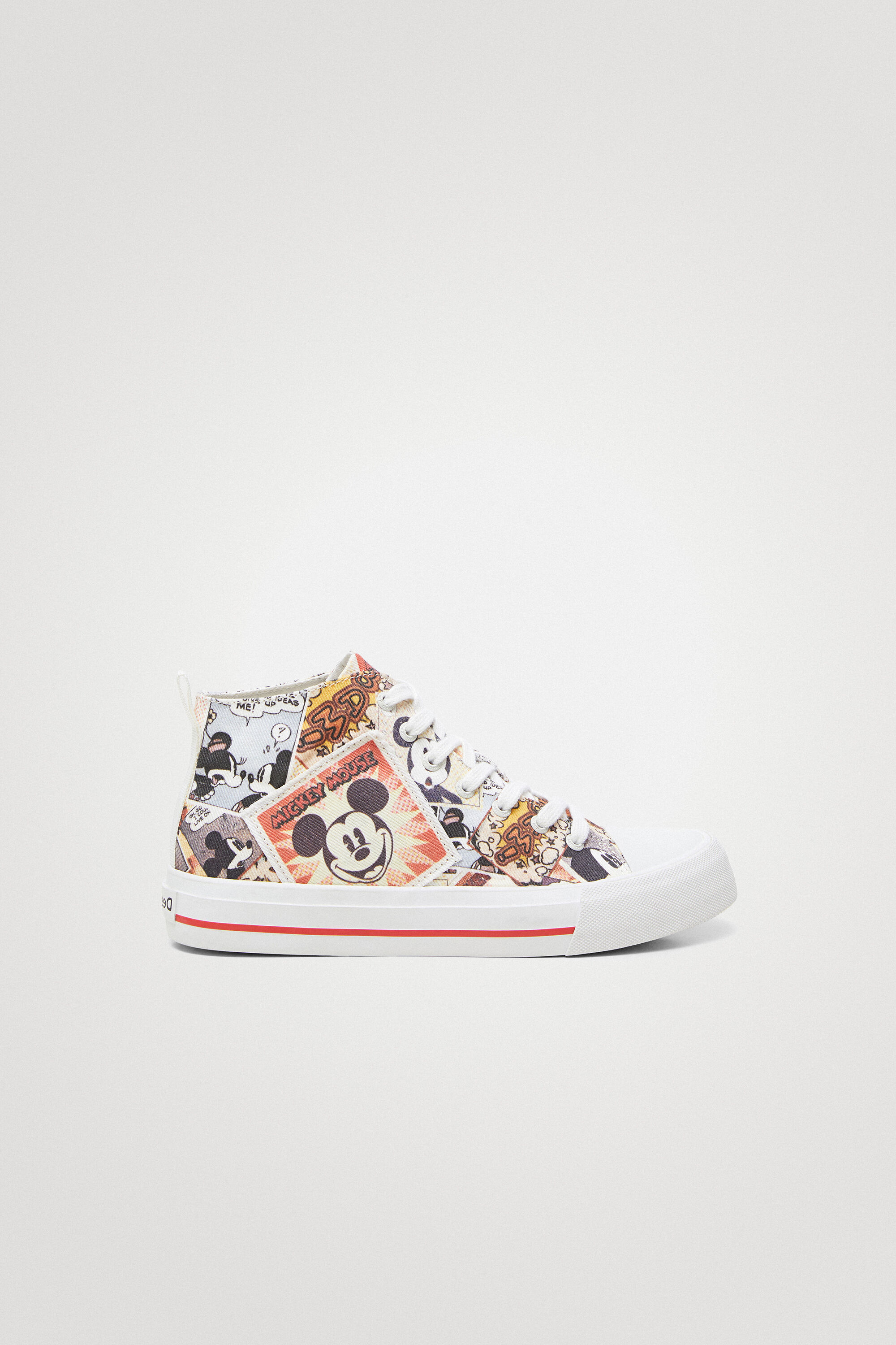 Mickey Mouse high-top sneakers - MATERIAL FINISHES - 41