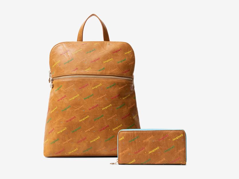 Set Rucksack und Geldbörse
