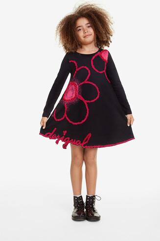 Floral frills dress