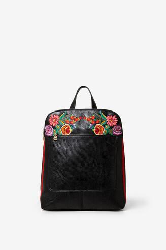 Rucksack mit Blumen Mex Nanimo
