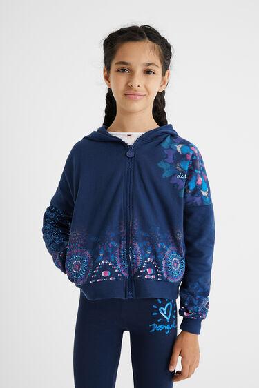 Sweat-shirt capuche coton | Desigual