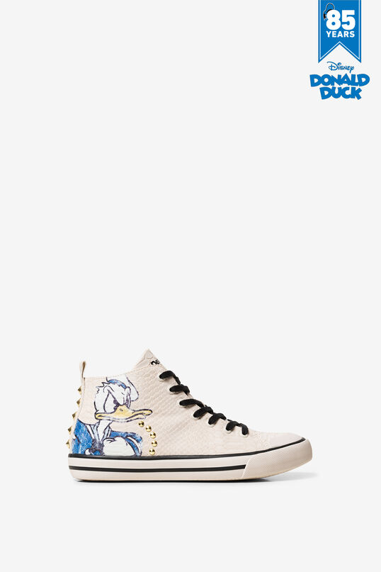 separation shoes good pretty cool Baskets montantes Donald Duck