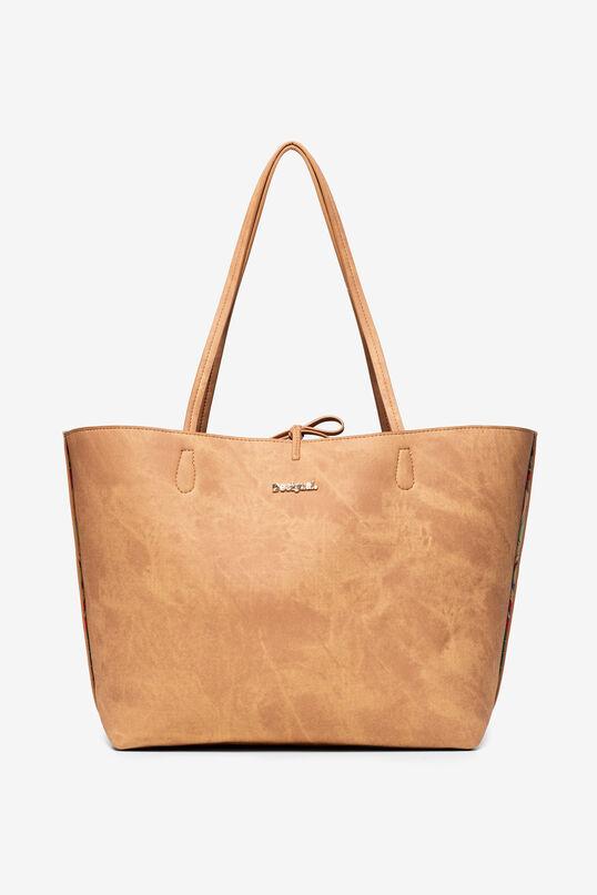 Reversible Bag with Indian Print Capri | Desigual