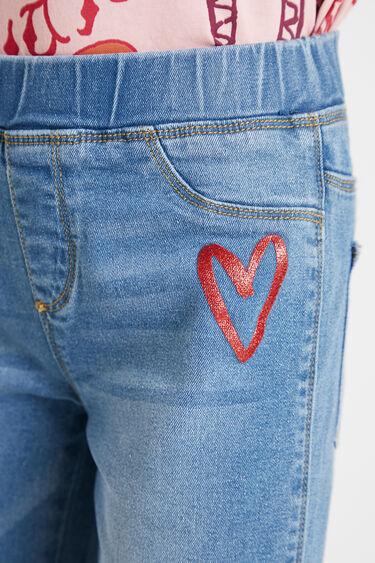 Jeans-Leggings im Slim Fit | Desigual