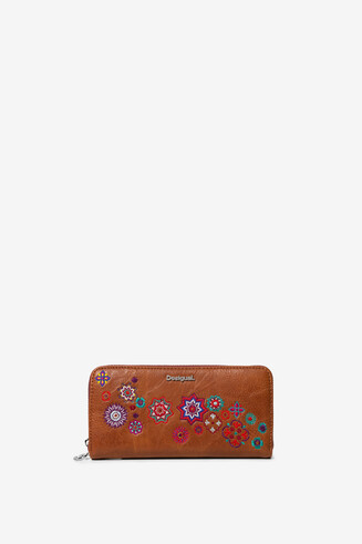 Long coin wallet mandalas