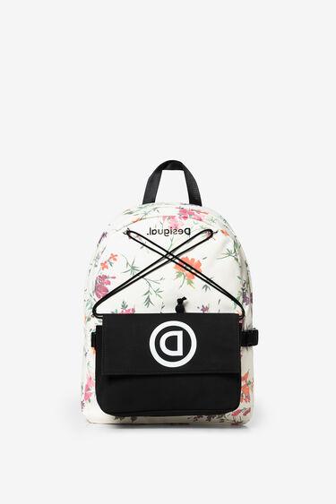Backpack and bum bag floral print | Desigual