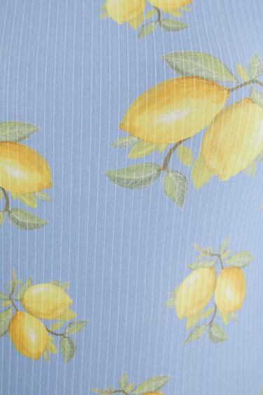 Body slim limones | Desigual