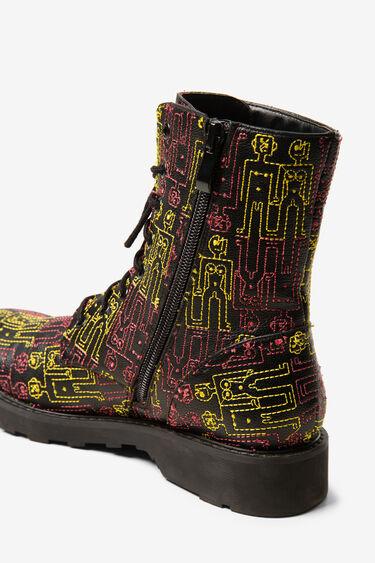 Desigual humans military boots   Desigual