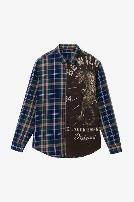 100% cotton tiger shirt | Desigual